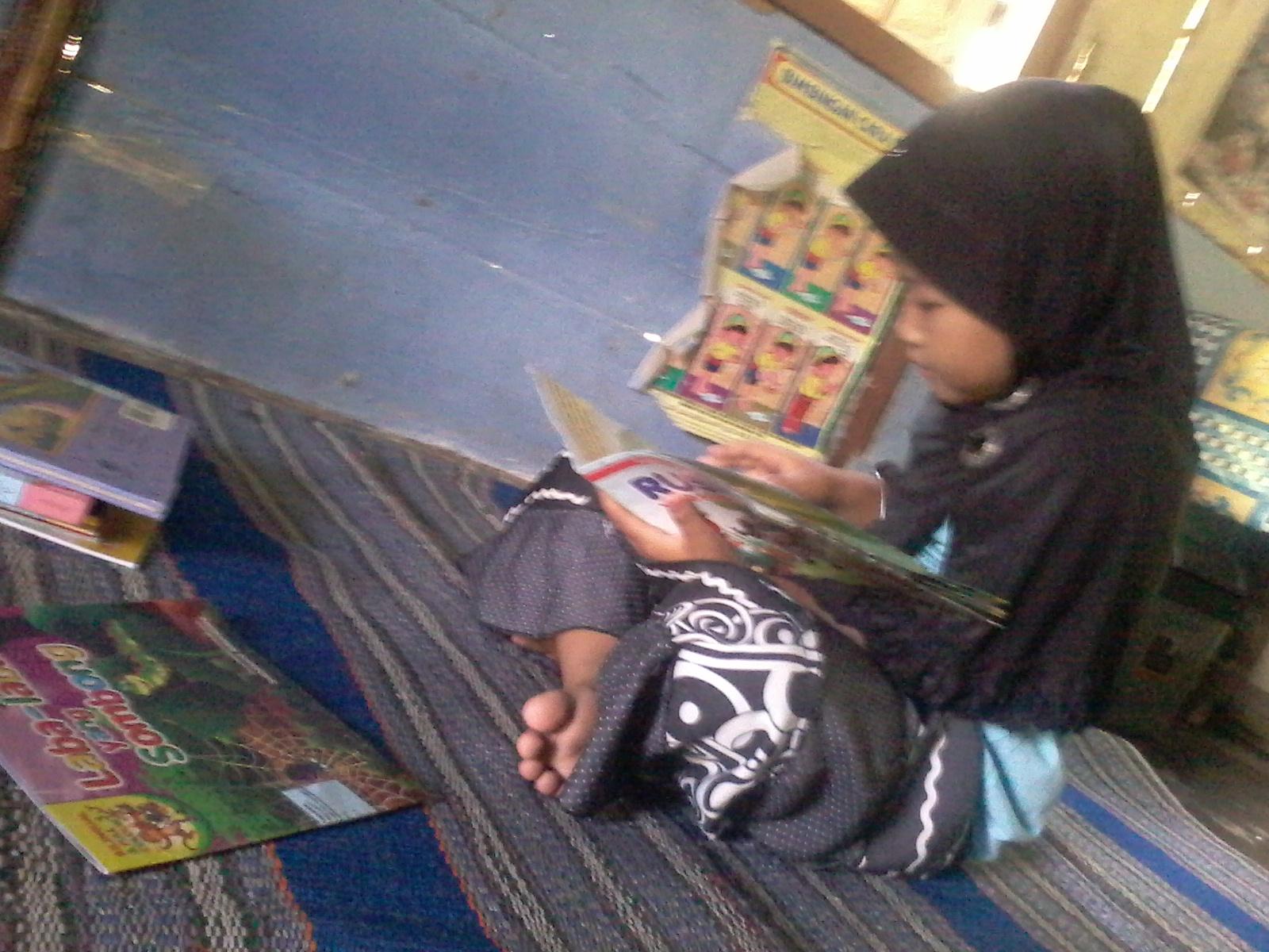 Jendela dunia dengan membaca