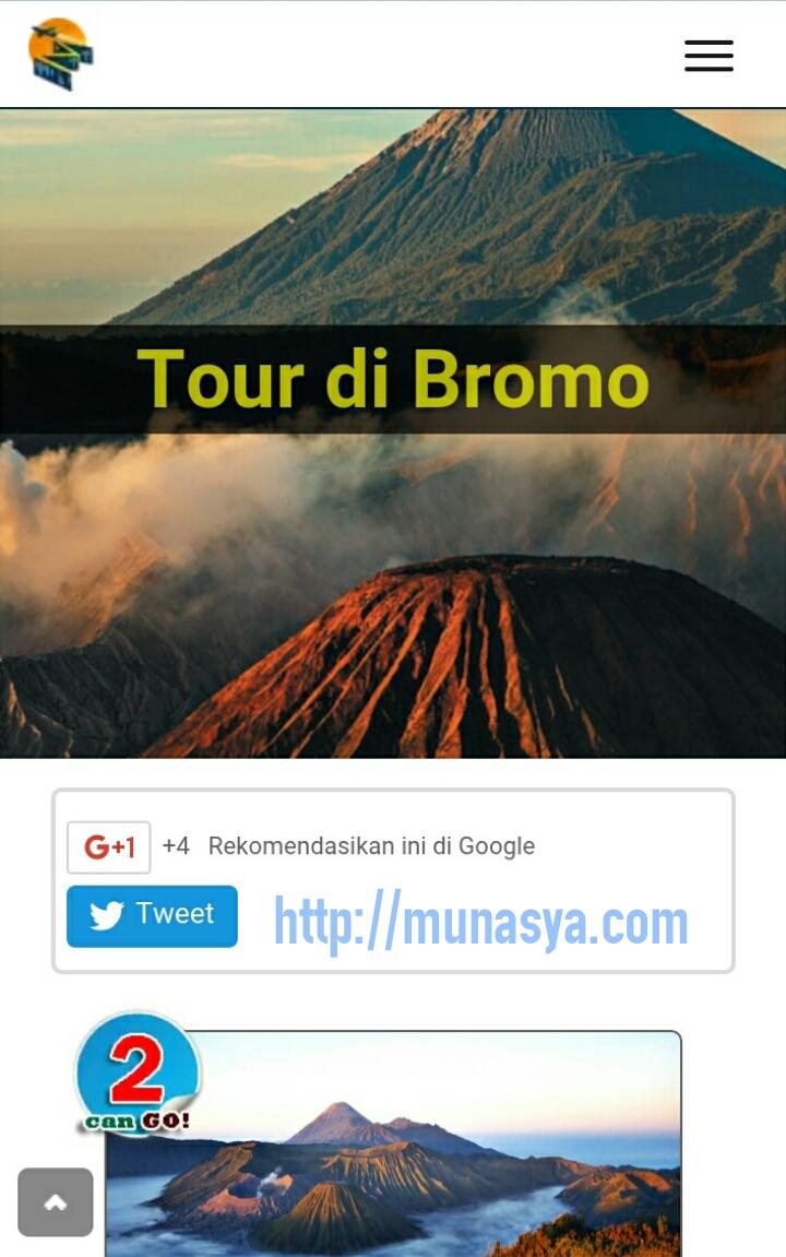 Tour liburan ke Bromo