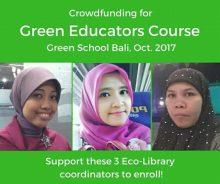Petualangan Bali : Dari Green Books Menuju Green School