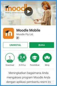 Aplikasi Moodle Mobile