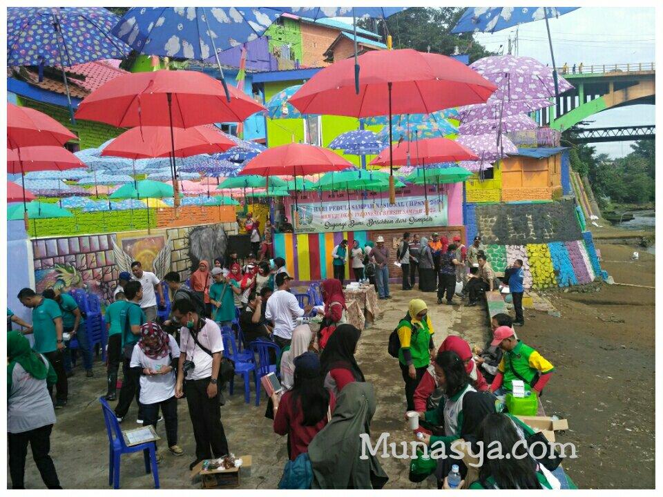 Warna warni kampung Jodipan Malang