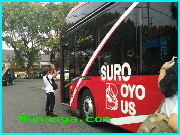 10 Hal Yang Patut Di Ketahui Sebelum Naik Bus Suroboyo