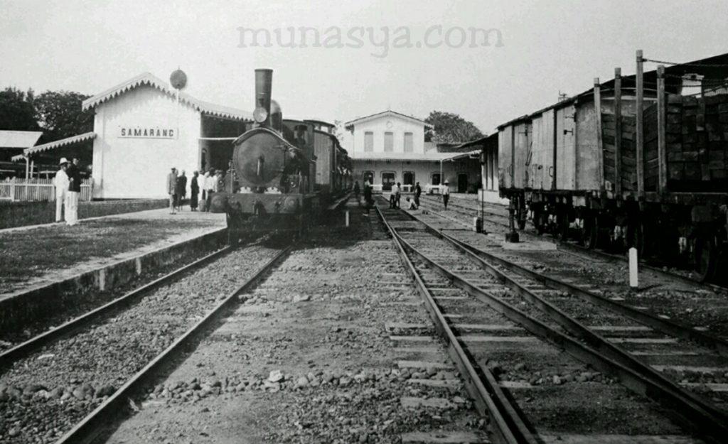 Sejarah kereta api di Indonesia
