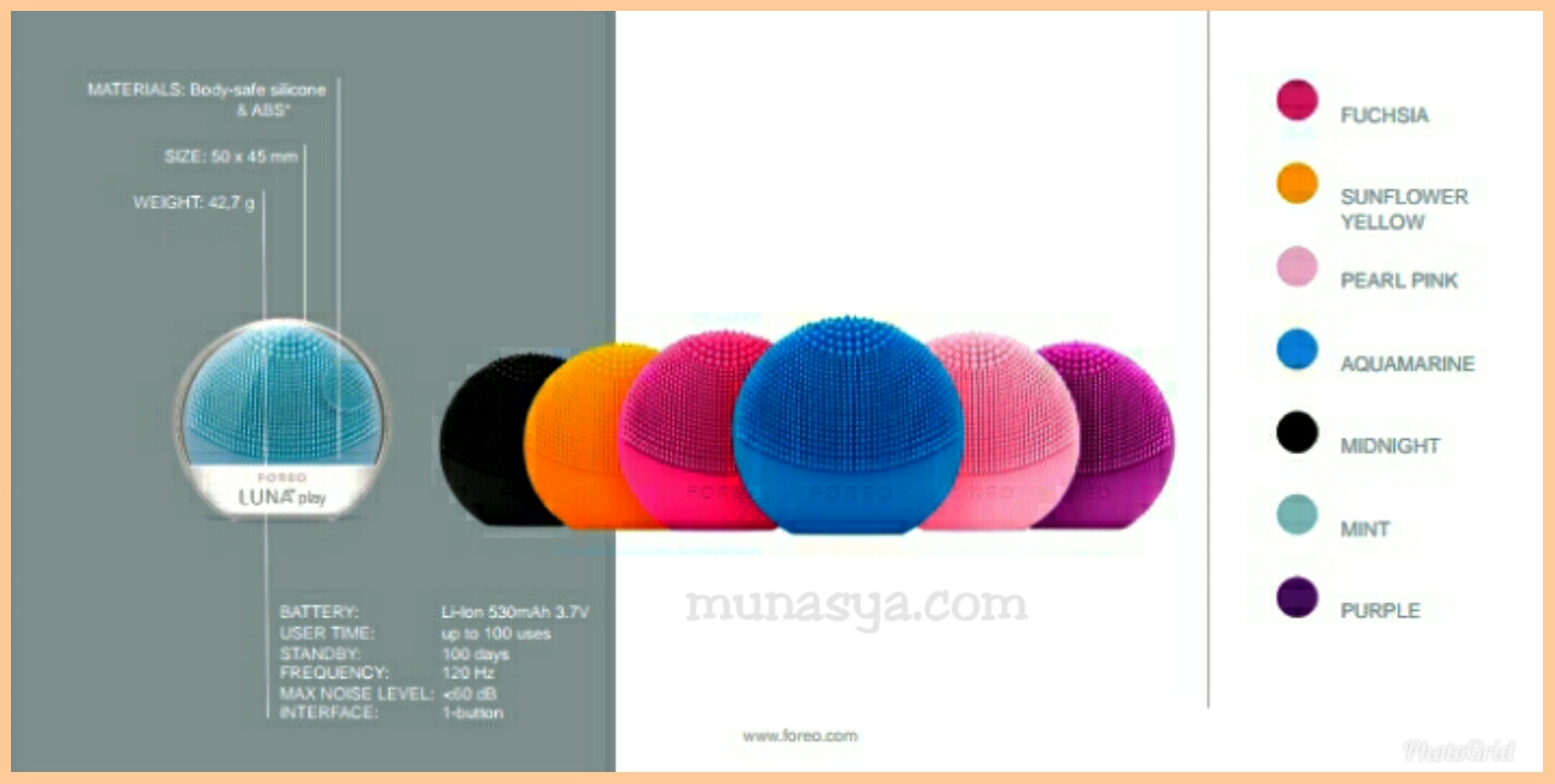 Warna FOREO LUNA play plus