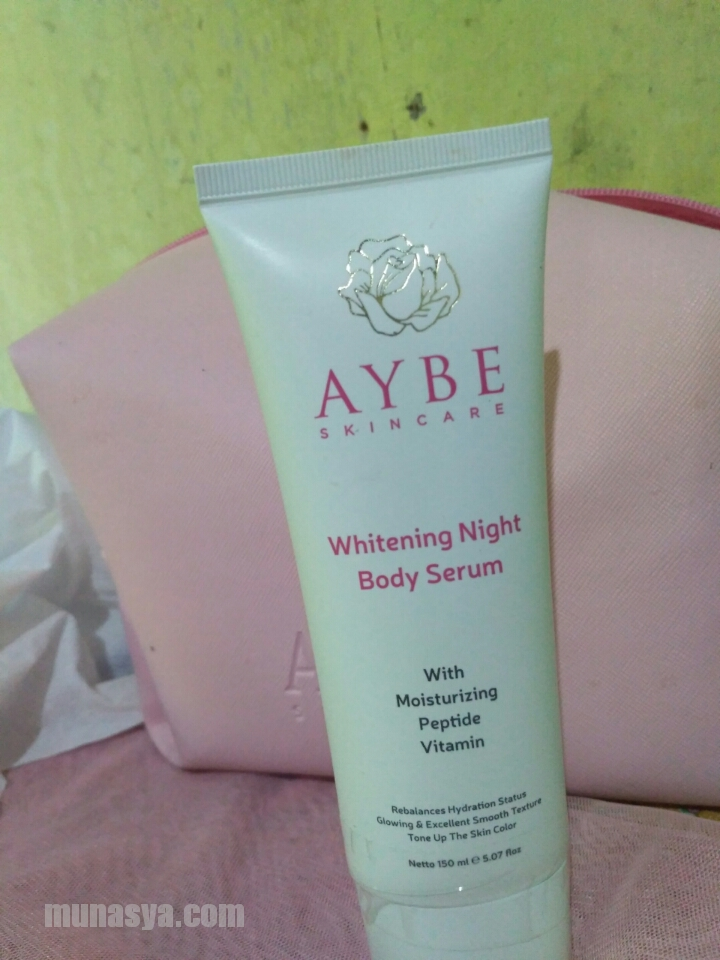 Aybe Whitening Night Body serum