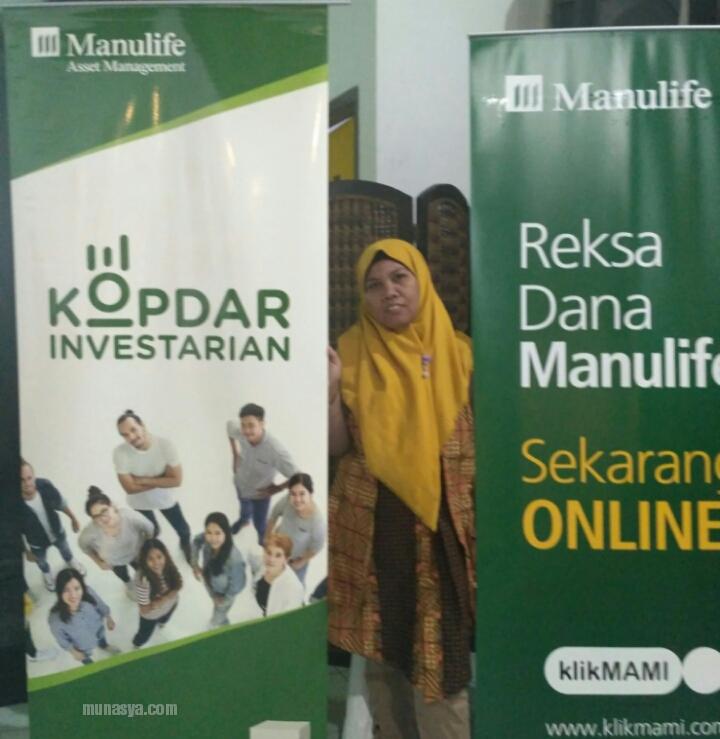 Kopdar Investarian Reksa Dana Manulife Syariah
