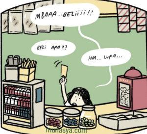 Belanja di warung