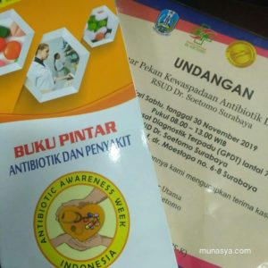 Konsumsi antibiotik