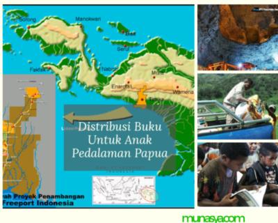 Distribusi Buku Untuk Anak Pedalaman Papua