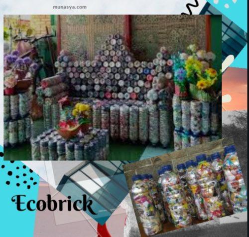 Kreasi Ecobrick dari Botol Plastik Bekas