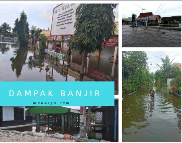 Dampak Buruk Banjir Yang Terjadi di Lamongan