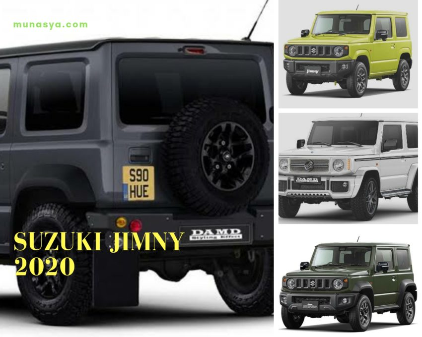 Spesifikasi dan Daftar Harga Suzuki Jimny 2020