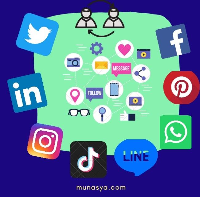 Menjaring Banyak Manfaat Lewat Media Sosial