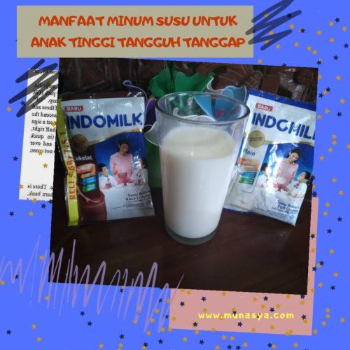 Manfaat Minum Susu Bubuk Untuk Anak Tinggi Tangguh Tanggap