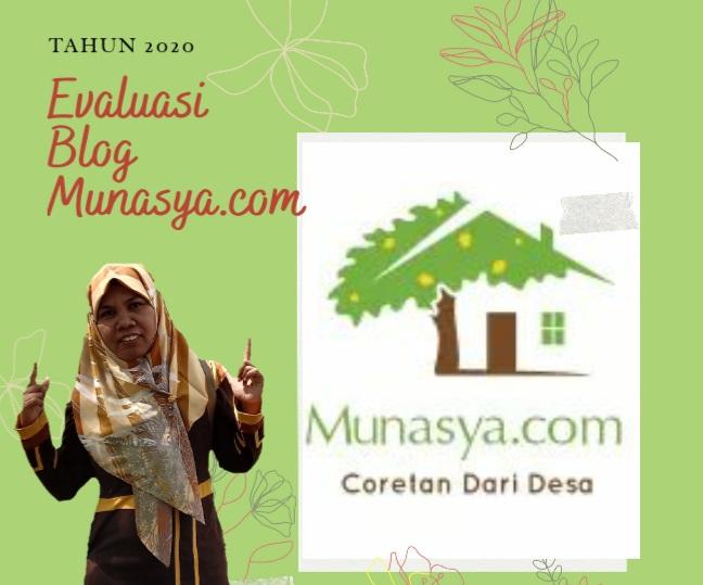Evaluasi Tahun 2020 Blog Munasya.com