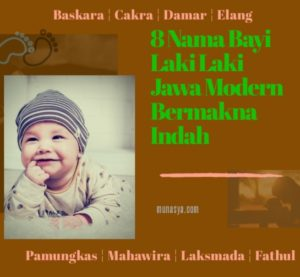 8 Nama Bayi Laki Laki Jawa Modern