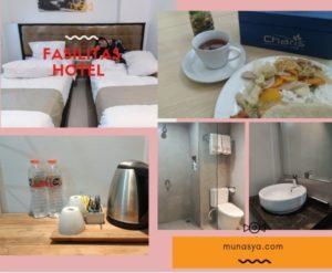 Fasilitas di Hotel Votel Charis Tuban