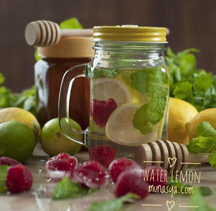 Manfaat Infused Water Lemon Serta Cara Membuat & Resepnya