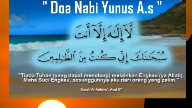 Teladan Doa Dari Kisah Nabi Yunus